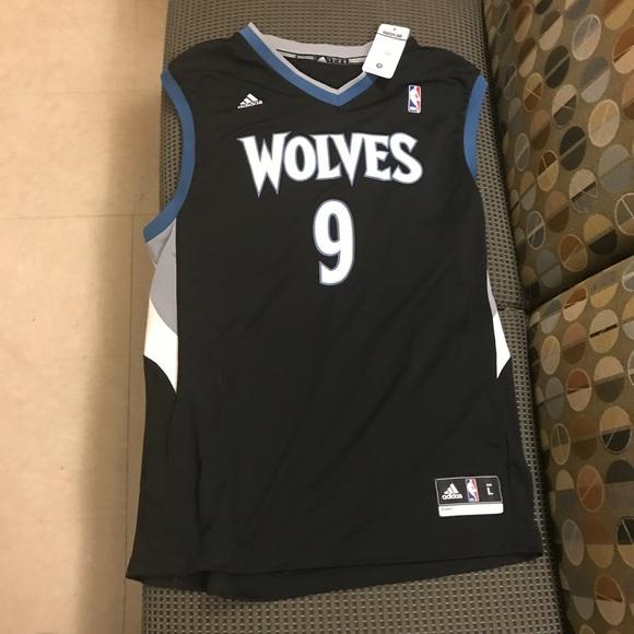 Adidas Ricky Rubio NBA Replica Jersey Mens Medium Etsy  Ricky Rubio Minnesota Timberwolves Nba